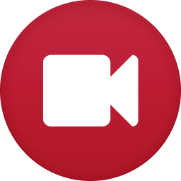 256x256px size png icon of video camera