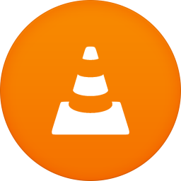 256x256px size png icon of vlc