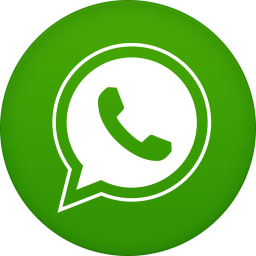 256x256px size png icon of whatsapp