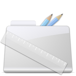 256x256px size png icon of Application Folder smooth