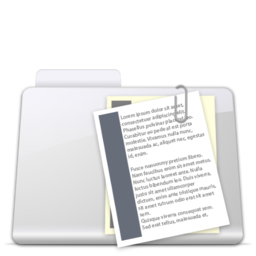 256x256px size png icon of Documents Folder smooth
