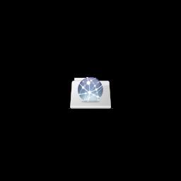 256x256px size png icon of Globe Graphite folder stripes