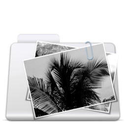 256x256px size png icon of Images Folder smooth