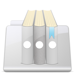 256x256px size png icon of Library Folder smooth