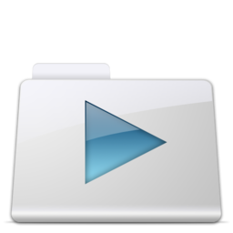 256x256px size png icon of Movies Folder smooth
