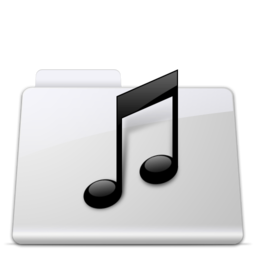 256x256px size png icon of Music Folder smooth