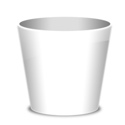 256x256px size png icon of Trash Empty
