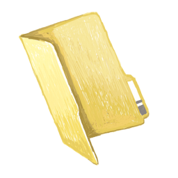 256x256px size png icon of folder plain