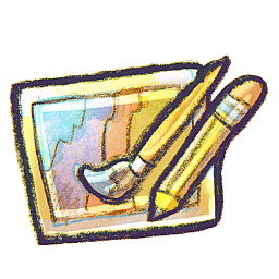 256x256px size png icon of G12 Art