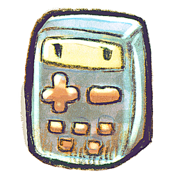256x256px size png icon of G12 Calculator
