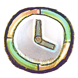 256x256px size png icon of G12 Clock