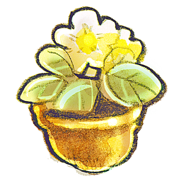 256x256px size png icon of G12 Flowerpot Flower