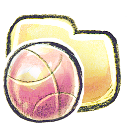 256x256px size png icon of G12 Folder Basketball