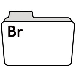256x256px size png icon of adobebridgefolder