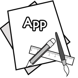 256x256px size png icon of app