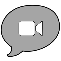 256x256px size png icon of ichat