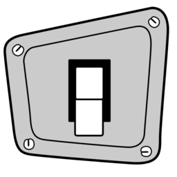 256x256px size png icon of switch