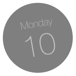 256x256px size png icon of Calendar App