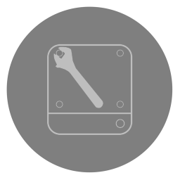 256x256px size png icon of Utilities Disk Utility