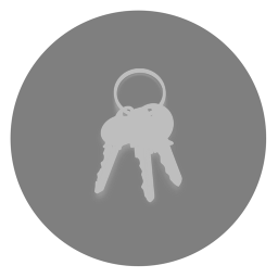 256x256px size png icon of Utilities Keychain Access