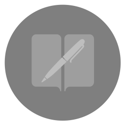 256x256px size png icon of iBooks Author