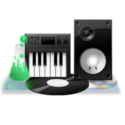 256x256px size png icon of Audio Dock