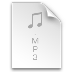 256x256px size png icon of File Mp3