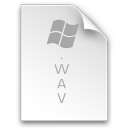 256x256px size png icon of File Wav