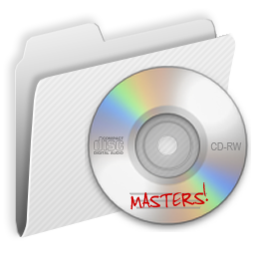 256x256px size png icon of Folder CDMasters