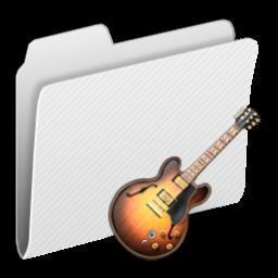 256x256px size png icon of Folder GarageBand