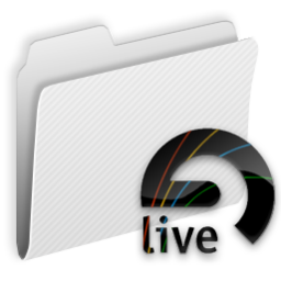 256x256px size png icon of Folder Live