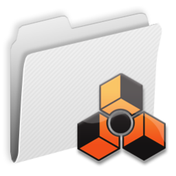 256x256px size png icon of Folder Reason
