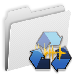 256x256px size png icon of Folder Recycle