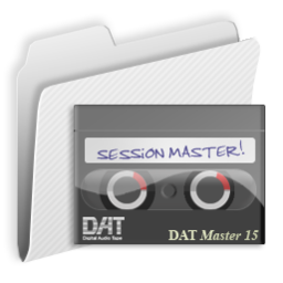 256x256px size png icon of Folder Session Masters