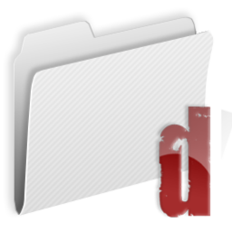 256x256px size png icon of Folder d