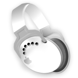 256x256px size png icon of iPod Headphones