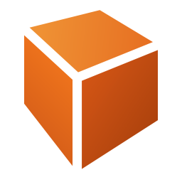 256x256px size png icon of Actions draw cuboid