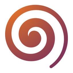 256x256px size png icon of Actions draw spiral