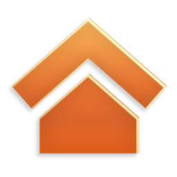 256x256px size png icon of Actions home