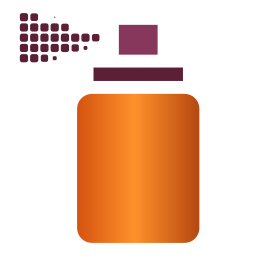 256x256px size png icon of Actions tool spray