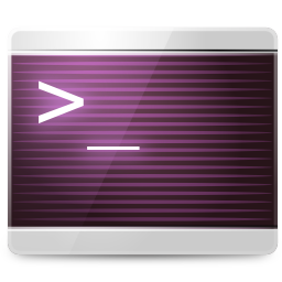 256x256px size png icon of Apps konsole