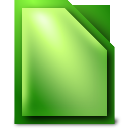 256x256px size png icon of Apps libreoffice calc