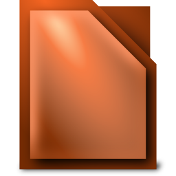 256x256px size png icon of Apps libreoffice impress