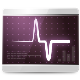 256x256px size png icon of Apps scan monitor