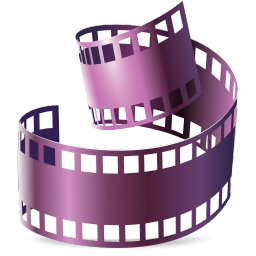 256x256px size png icon of Mimetypes divx