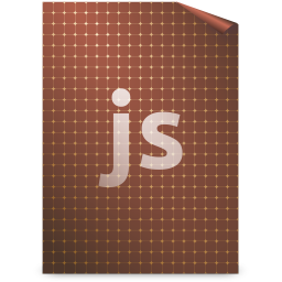 256x256px size png icon of Mimetypes javascript