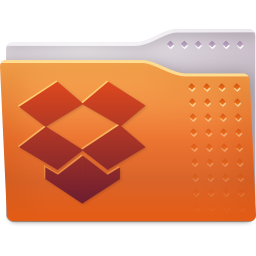 256x256px size png icon of Places folder dropbox