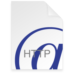 256x256px size png icon of Internet Location HTTP