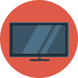 Flat Tv Vector Icons Free Download In Svg Png Format