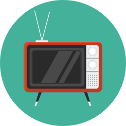 Retro Tv Vector Icons Free Download In Svg Png Format